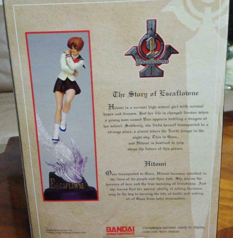 Figurine Hitomi rare